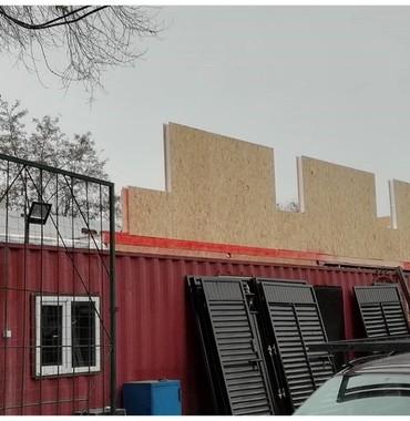 гараж из сендвич панелей в Кыргызстан: Строим магазины из сип-панелейСтроим дома из кирпичейлюбые здания из