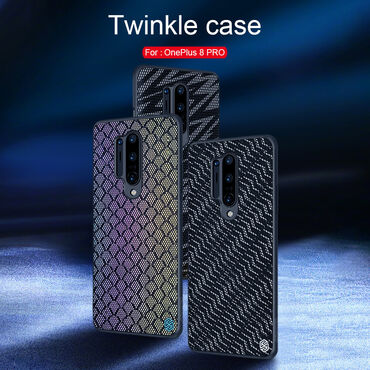 Oneplus 3t - Кыргызстан: Чехлы для OnePlus 8 OnePlus 8 Pro Оригинальный чехол Nillkin Twinkle