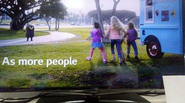 Телевизор. Samsung 107 см full hd led , usb , hdmi, dvb-t2, в Бишкек