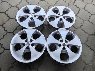 купить диски для машины в Кыргызстан: Оригинальные диски TOYOTAДиаметр R17Сверловка 5*114.3Ширина 7.0jВылет