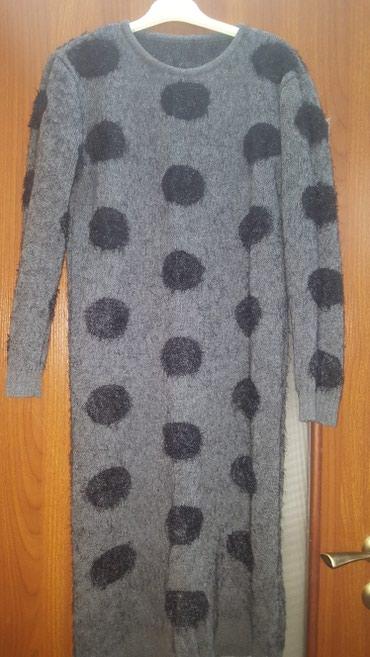 Платье, очень теплое, длина ниже колен, размер 44/46/48 в Бишкек