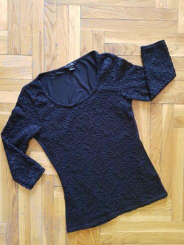 Ženske majice - Srbija: AKCIJA!Cipkana bluza,par puta obucena,bez ostecenja