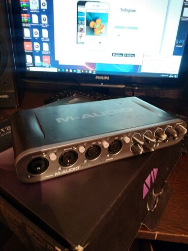 bmw x5 m в Ак-Джол: Срочно продаю звуковую карту M-audio fast trak ultra цена 10000тсч