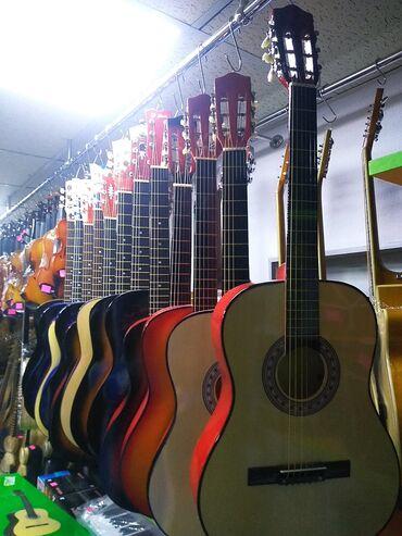 Musiqi alətləri - İmişli: Akustik gitara teze pakofqada