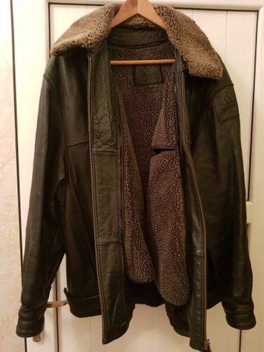 """куртка мужская """"adidas"""" Германия оригинал, натуральная телячья кожа, ц в Бишкек"""