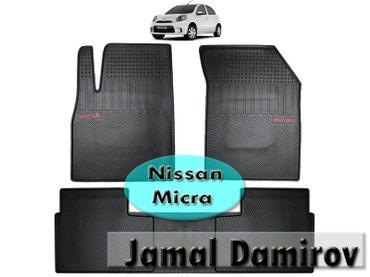 Bakı şəhərində Nissan Micra ucun silikon ayaqaltilar