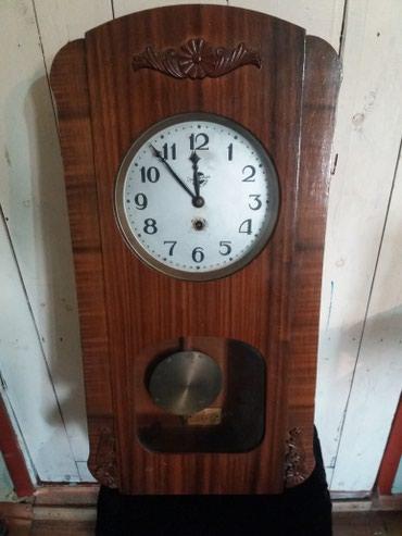 Часы каминные настенные механика СССР за всё 7500 в Бишкек