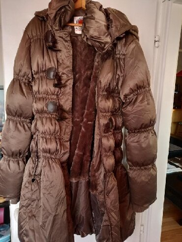 Zimska-jakna-sa-krznom - Srbija: Zimska jakna, pretopla sa krznom unutra, sa etiketom. Nova, nijednom