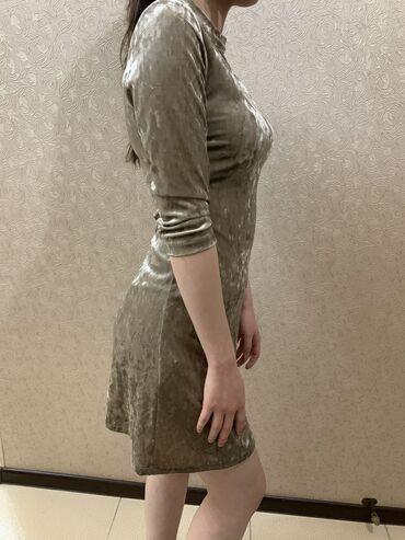 размер 44 платья в Кыргызстан: Вельветовое платье  Размер: 44 Носила пару раз, брала за 1600с