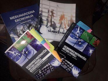 Knjige za ekonomski fakultet sve za 700