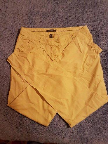 Espritove zute pantalone