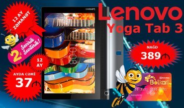 Lenovo Yoga Tab 3 16 GB 850 в Баку
