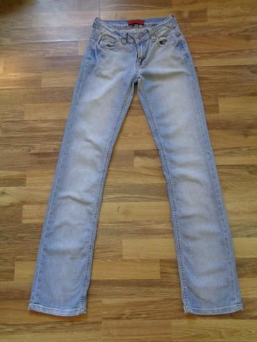 женские летние джинсы в Азербайджан: Летние джинсы бренда VIGOSSНе стрейджевые, прямые.Длина от пояса 110