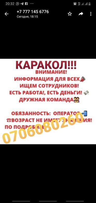 протеин для роста в Кыргызстан: Оператор Call-центра. С опытом. 5/2