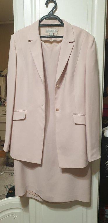 Продаю двойку костюм с платьем. Корея . Почти новое. Размер 48-50. Х