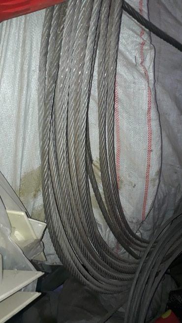 Продаю трос стальной. 30 метров диаметром 10мм. цена 1700 в Бишкек