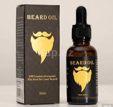 Beard oil Saqqal SeriumuHeç bir əks təsiri olmayan bu məhsul kişilərdə