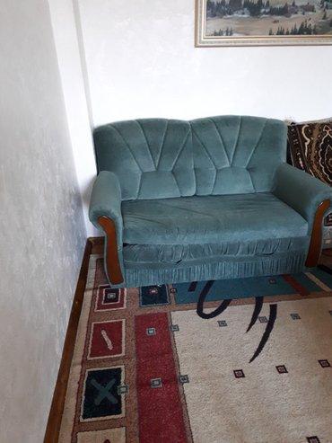 Диван кровать 2х местный в хорошем состоянии. в Бишкек