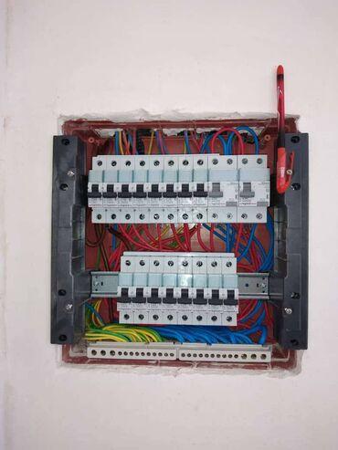 Xidmətlər - Azərbaycan: Elektrik | Vıkluçatellərin quraşdırılması, Elektrik şitlərinin yığılması, Avtomatların quraşdırılması