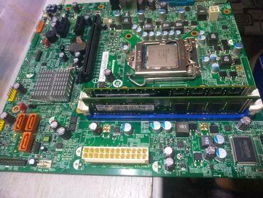Комплект 1155 сокет + 4гб озу + i3 2100 Цена 4000 сомигровой игравой