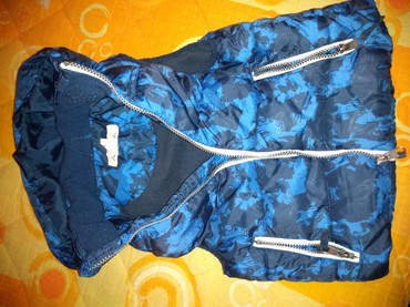 Dečija odeća i obuća - Knjazevac: Hm prsluk Vel 116. polovan,topao u super stanju