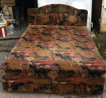 Продаю кровать двуспальную с мягкой в Бишкек