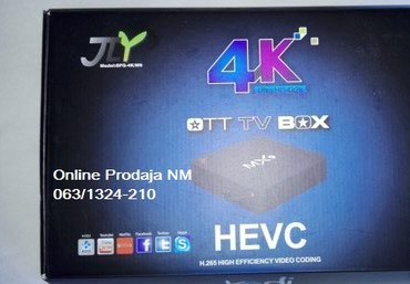 MX9 TV BOX 4K Quad Core Cortex-A7 in Belgrade