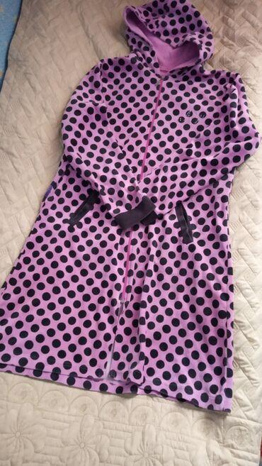 Продаю женский, велюровый, турецкий халат . Одевали несколько раз