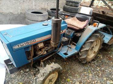 Мини трактор Исеки, производство в Бишкек
