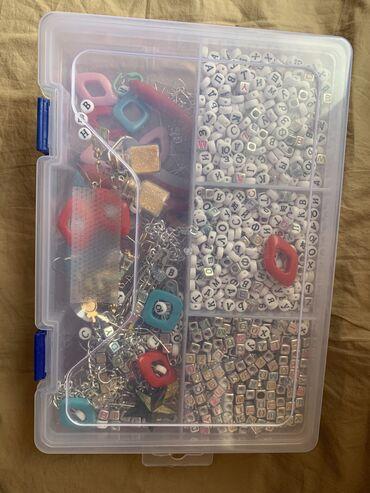 Спорт и хобби - Казарман: Продам набор для создания различных украшений, пины, инструменты
