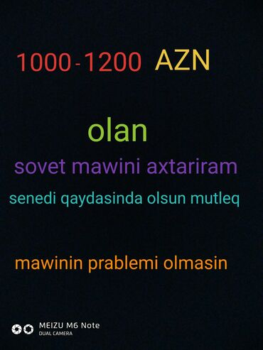 iwlenmiw telefonlar - Azərbaycan: Iwlenmiw mawin aliram