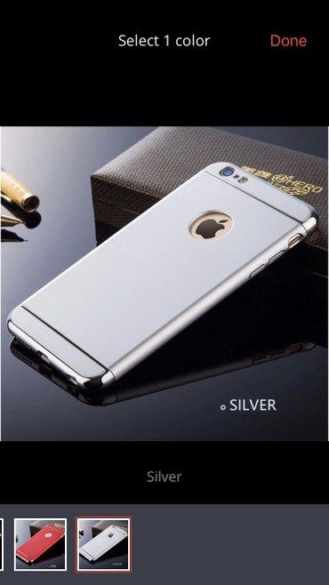 Extra maska za iphone 6. Plastika odlicnog materijala koji se ne defor - Kragujevac