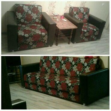 - Azərbaycan: Divan kreslo yaxsi veziyetde mingecevirde divanda acilir kreslolarda