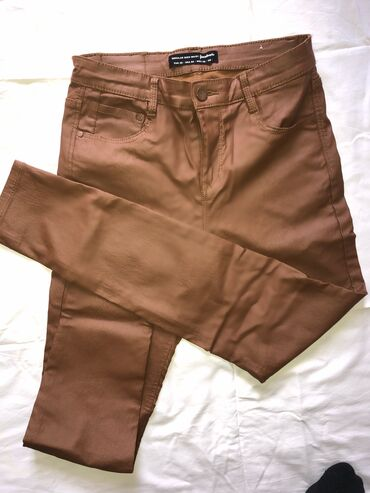 Farmerke - Srbija: Toop prelepe kozne pantalone,novee