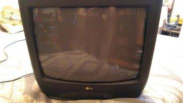 lg телевизор цветной в Кыргызстан: Продается цветной телевизор оригинальной сборки LG CF20F30K. Полностью