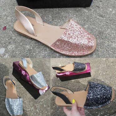 Ženska obuća | Sokobanja: Lagane ravne letnje sandaliceebas su udobne, ne znoji se noga u