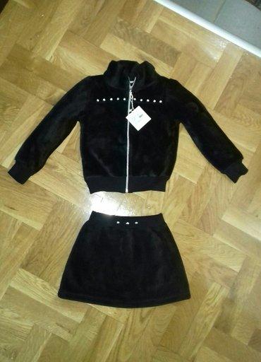 Kom sa etiketom - Srbija: Novo!!! Kompletic za devojcice velicina 5 sa etiketom