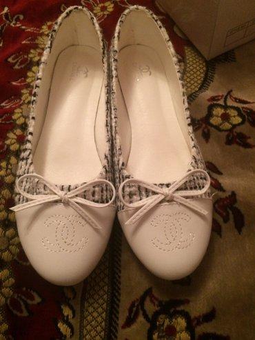 Срочно продаю Балетки chanel 37-38 размер. в Бишкек