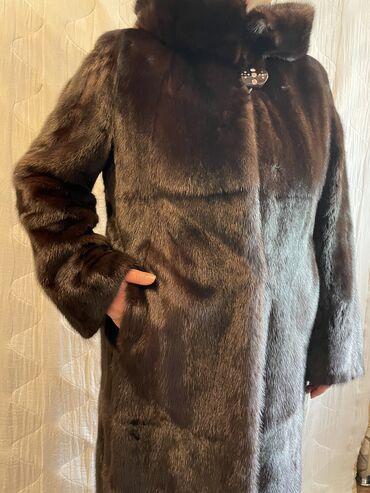 все по 50 сом бишкек адреса in Кыргызстан | ДРУГИЕ ДЕТСКИЕ ВЕЩИ: Норковая шуба, размер 50, цвет коричневый