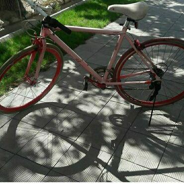 Велосипед корейский оригинал Рама алюминия вес 10кгКолесо 28 диски