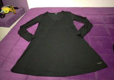 Pamucni kombinezon - Srbija: Crna pamucna haljinica, velicina S