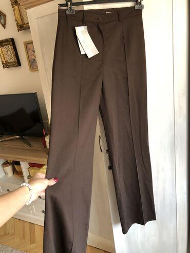 Zenske pantalone broj - Srbija: MONA, NOVE zenske braon pantalone. S velicina. Sa etiketom i dalje! Ni