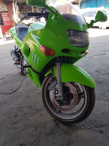 Kawasaki - Кыргызстан: Кавасаки ззр 600. 2004 год! Состояние хорошее, мот обслужен!!!