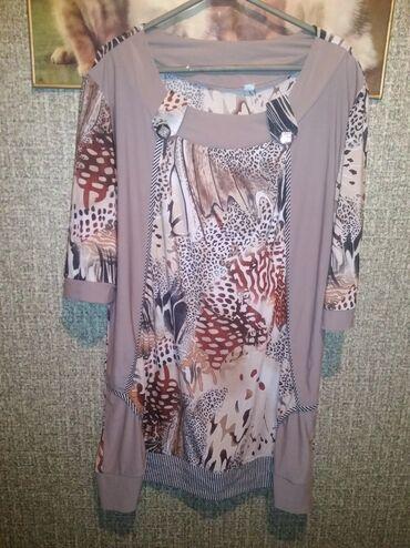Женская одежда - Джал: Туника. 48_50р ношенная в хорошем состоянии