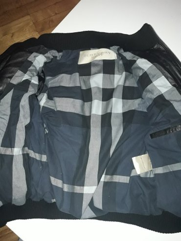 Barberi jakna kozna debela punjena paperijem velicina XXl - Beograd
