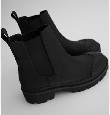 Ботильоны Zara  Черного цвета, размер 37