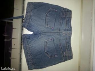 Šorc od džinsa za devojčice ovs kids , 110/4-5 u odličnom stanju - Vrsac - slika 2