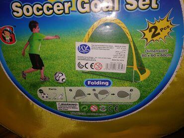 Za decu | Nis: Golovi za fudbal sa drzacima