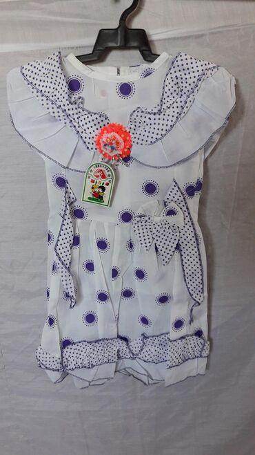 детский платья новый в Азербайджан: Платья детские, новые, в упаковках, на вешалочке. Разные модели.На 1 -