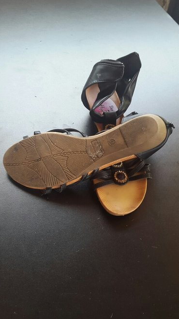 Crne sandale br.41 - Novi Sad